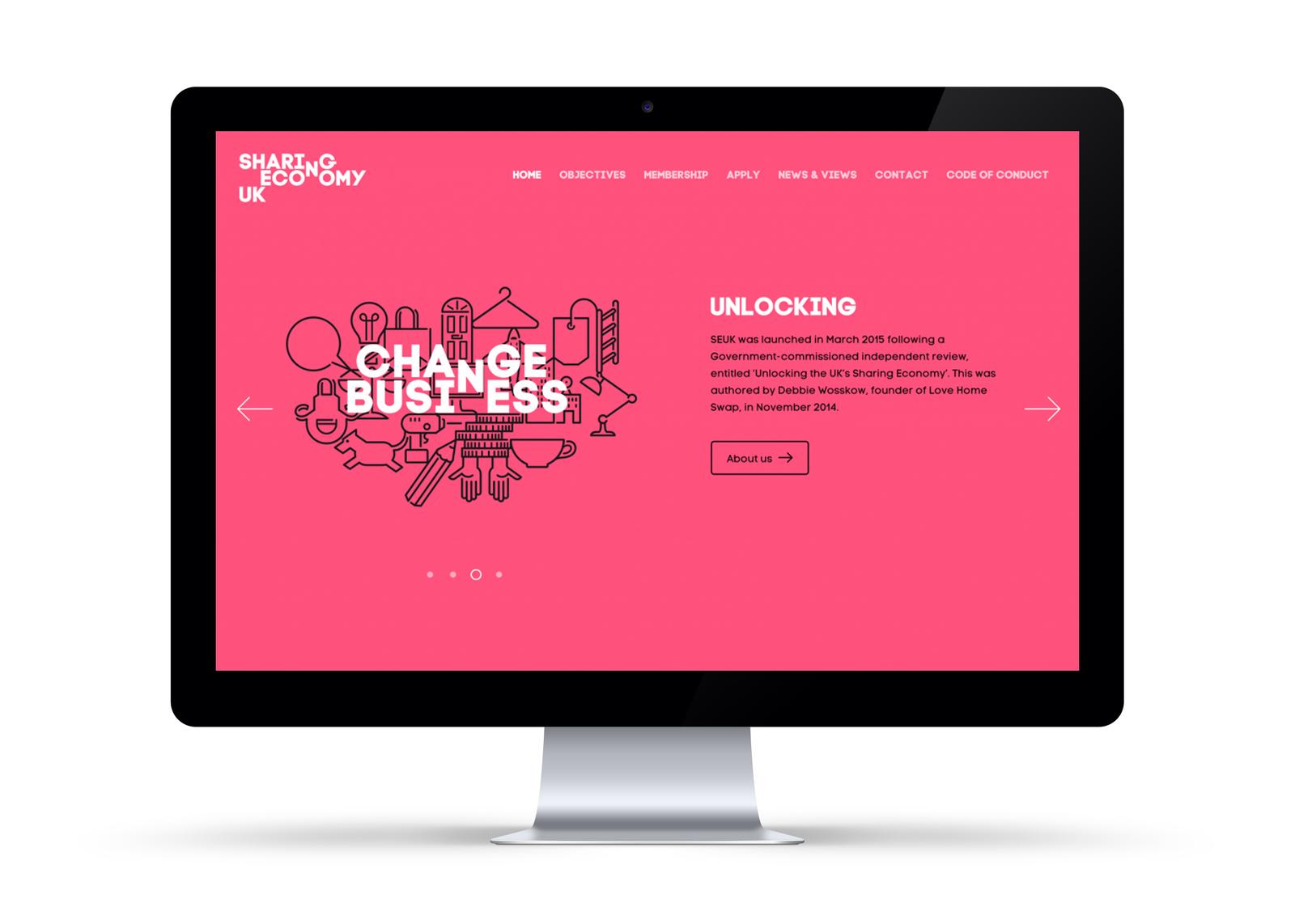 Sharing Economy Website
