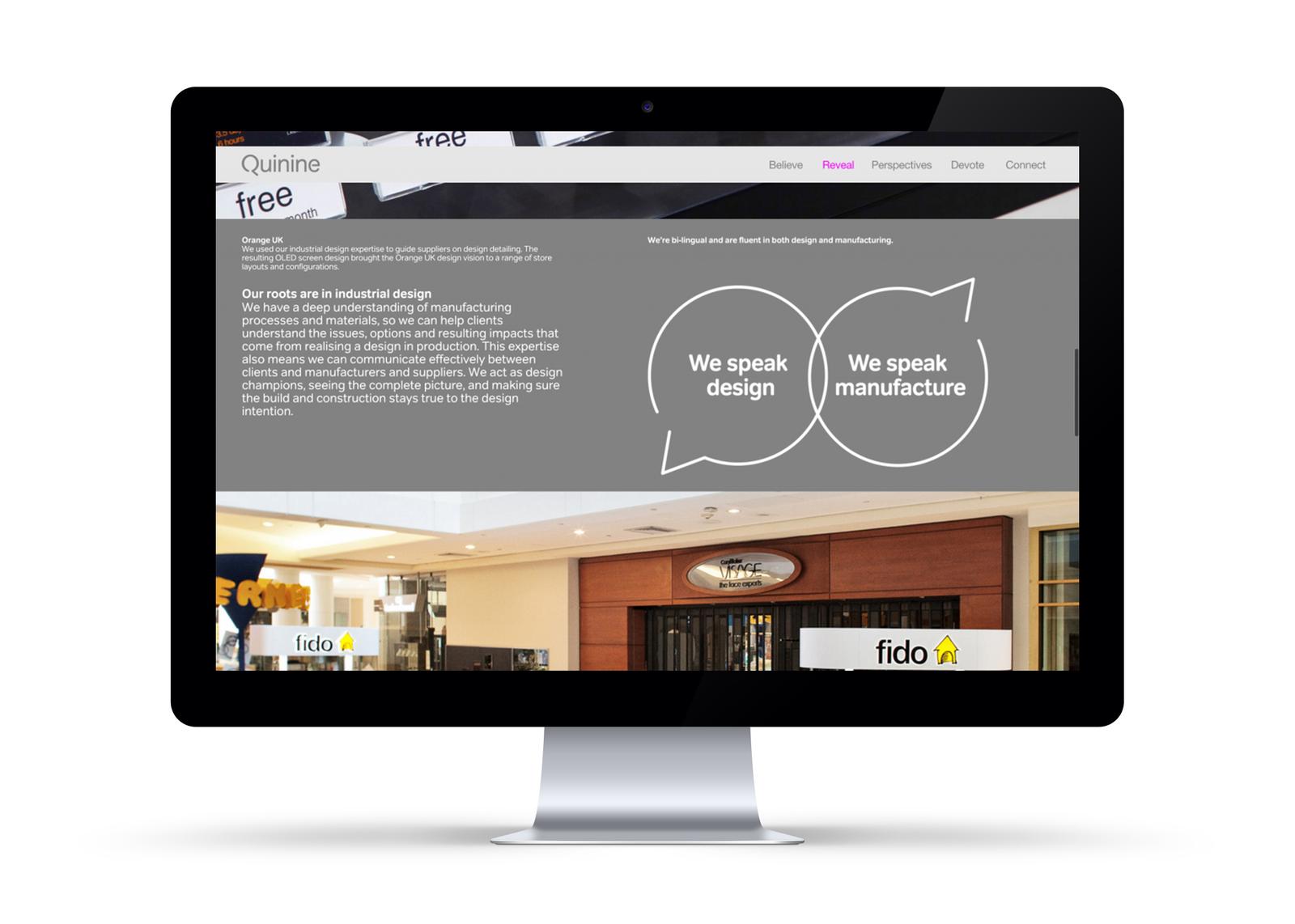 Quinine Website