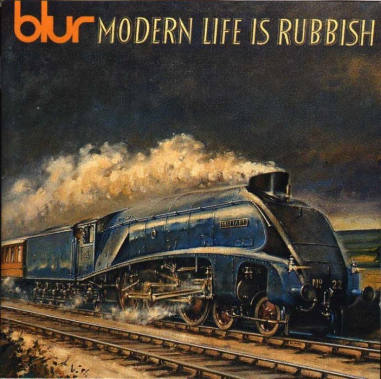 Blur Modern Life Is Rubbish Front