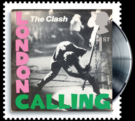 The Clash stamp