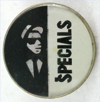 The specials logo prismatic crystal badge 6774 p